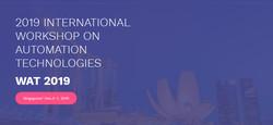 【ei/cpci/scopus检索】2019自动化技术国际研讨会(wat 2019)
