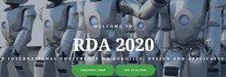 【ei/cpci/scopus检索】第四届机器人设计与应用国际会议(rda 2020)