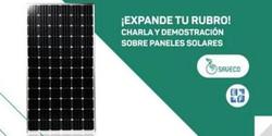 ¡expande tu rubro! Charla sobre paneles solares.