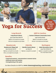 [free] Yoga For Success on Sat Oct 19, 2019 at 10:30 am, Etobicoke