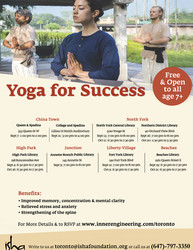 [free} Yoga For Success on Thursday, Sept 19, 2019 at 6:30 p.m , Toronto