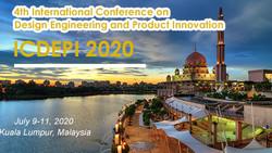 第四届工程设计和产品创新国际会议(icdepi2020)