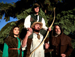 """""""ken Ludwig's Sherwood: The Adventures of Robin Hood"""" Presented by OpenStage Theatre"""