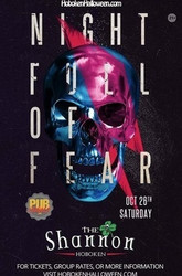 """night Full of Fear"" Halloween at The Shannon Hoboken Bar - October 2019"