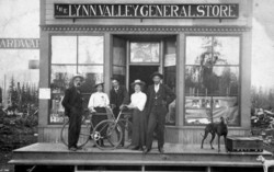 """shaketown"" Free history walk through Lynn Valley with Educator from Nvma"
