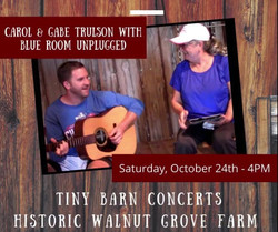 """tiny Barn Concert"" at Walnut Grove Farm, Saturday October 24th - Blue Grass, Country, Blues & Favs"