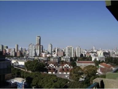 DUEÑA RENTO PALERMO 2 AMB. WIFI EXC. VISTA PISO 16 CAÑITAS - Apartamentos con servicio