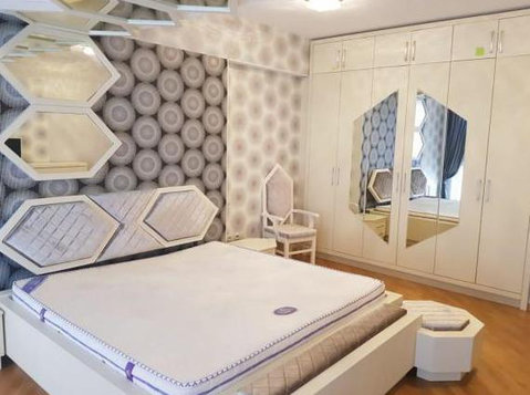 Vip rent Port Baku, 3 rooms - Byty