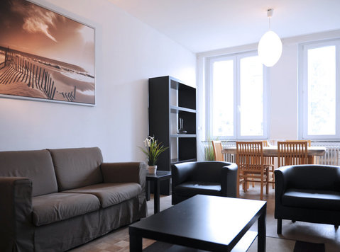 Fully furnished, Eu region, great mobility, calm, bright - Apartments