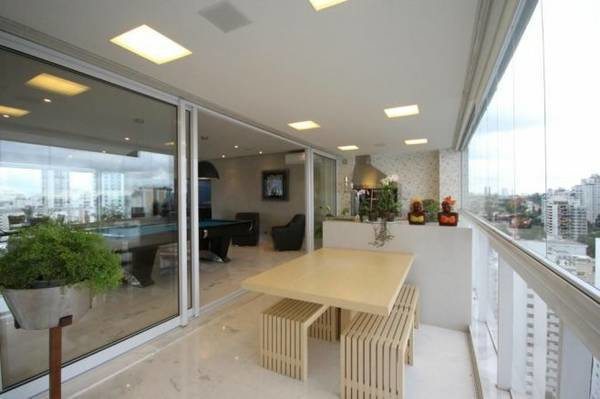 Luxury new 4 suites condo apartment with full leisure area for Apartments in sao paulo brazil