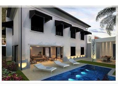 Brand New Luxury 4 Suites Duplex House + Pool Sauna Backyard - Casas