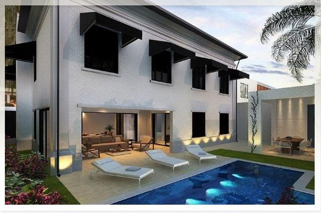 Brand new luxury 4 suites duplex house pool sauna for Houses for sale with suites
