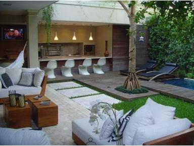 Gorgeous 3 suites house with pool - Jardins Area - Talot