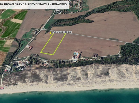Building land near the beach, LONG BEACH RESORT, Bulgaria - Pozemek