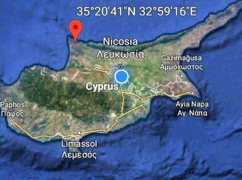 North Cyprus - Terrain