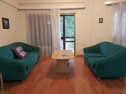 Rooms at 3 bedroom flat near University of Nicosia - Общо жилище