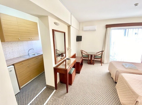 Studio city center full furnished WIFI andall bills Included - Căn hộ