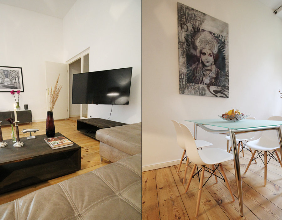 Urban Apartments Com Stylish Apartment W Terrace Mitte