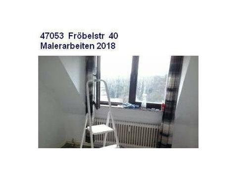 2 RWG 47053 Duisburg Ebk ruhige Wohnlage - Wohnungen