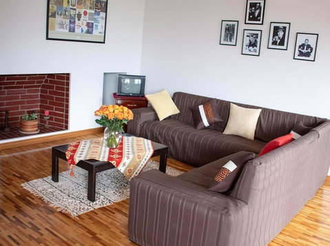 Short long stays furnished apartment in Quito La Carolina - Apartmány