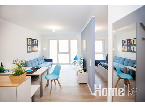 Studio with a separate sleeping area in Boardinghouse… - Apartments