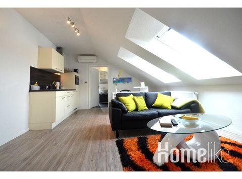 Cómodo apartamento de huéspedes - totalmente amueblado - Pisos