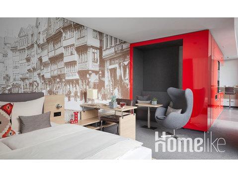Eenpersoons appartement met kitchenette en wifi in… - Appartementen
