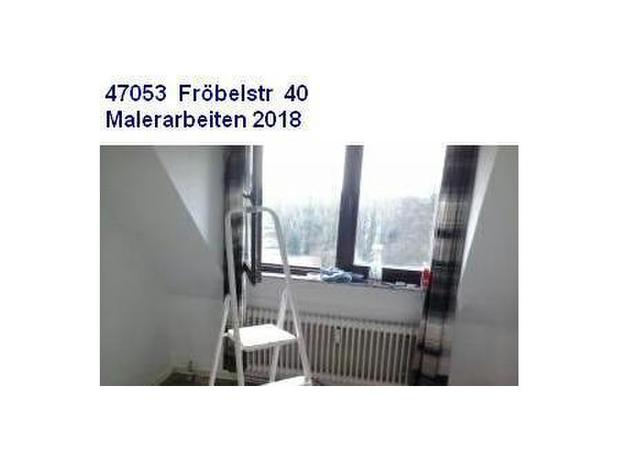 Single apartment duisburg