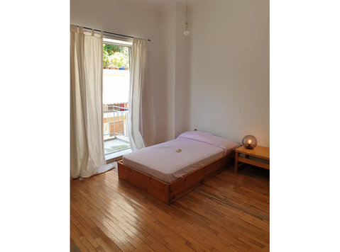 Large Two Bedroom Student/expat Apartment Central Athens - Pisos
