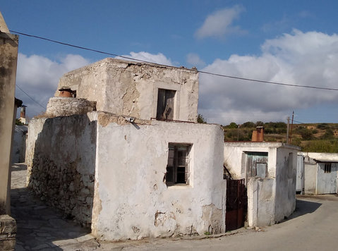Stone House Renovation Project In Crete GREECE Bargain - Casas