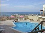 Kreta große Ferienwohnung für 7 Gäste direkt am Sandstrand - Ferienwohnungen