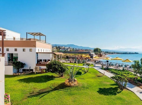 Crete holidayflats at the beach east of Rethymnon - Alquiler Vacaciones