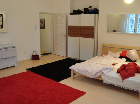 "Rakoczi sq.""corner room""& balcony,view,32m2,near university! - Συγκατοίκηση"