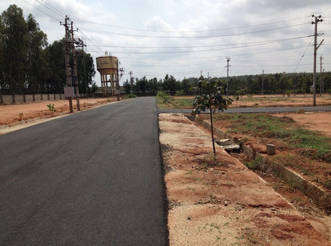 North bangalore biaapa approved sites at bettahalsuru jala - Terrain