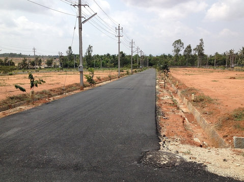 Papanahalli layout phase-1 biaapa approved sites sale jala - Terrain