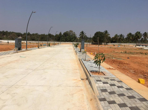 Chikkajala Biaapa Approved Plots Sale Before Airport - Terrain