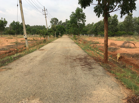 biaapa approved plots near Kia / devanahalli bangalore - Terrain