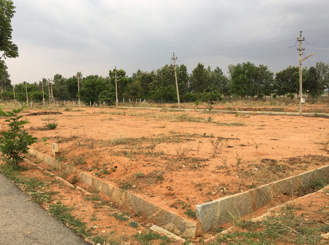 sarjapur near dc converted 30x40 sites for sale - Land