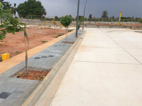 urban village biaapa approved plots near yelahanka - Земя