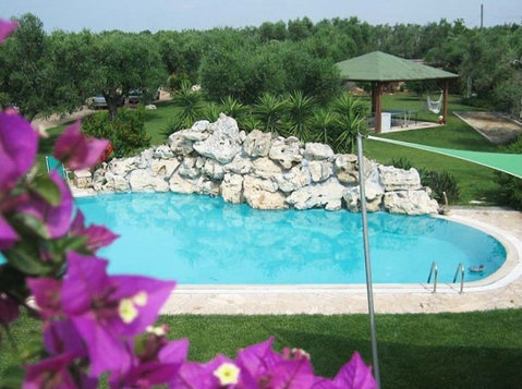 Beautiful residence in the quiet Salento - Kantoorruimte