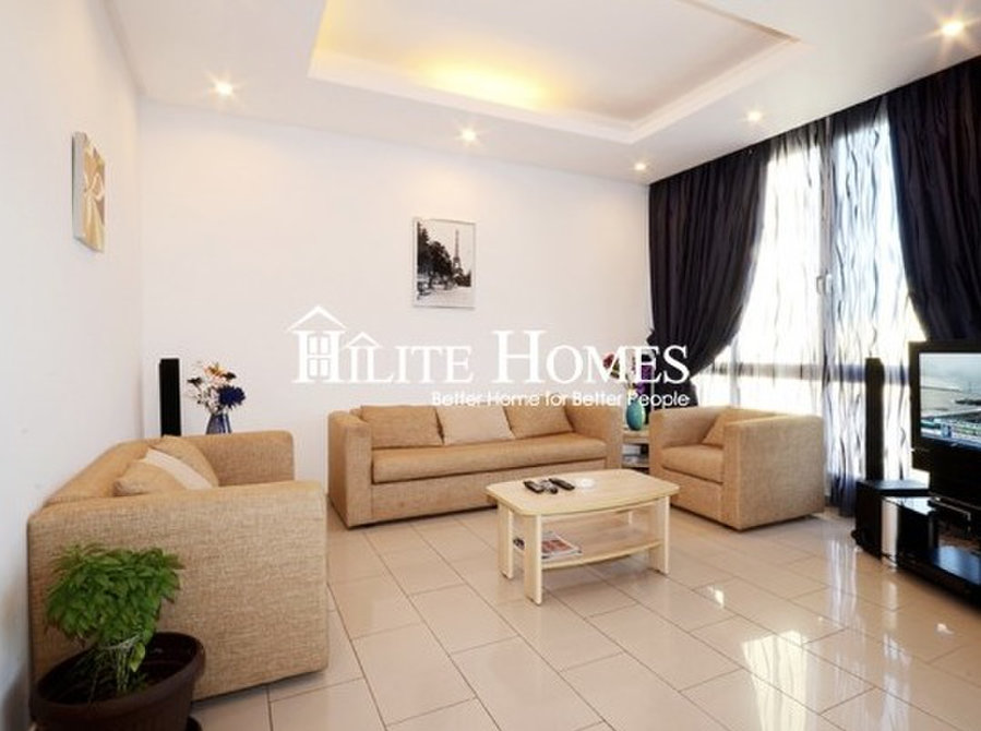 3bedroom Furnished Flat Salmiya Hilite Homes Real Estate  For Rent  Apartments In Kuwait