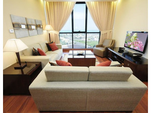Fully furnished and serviced 1 & 2 bedroom flat  KD 500  650 - Apartments