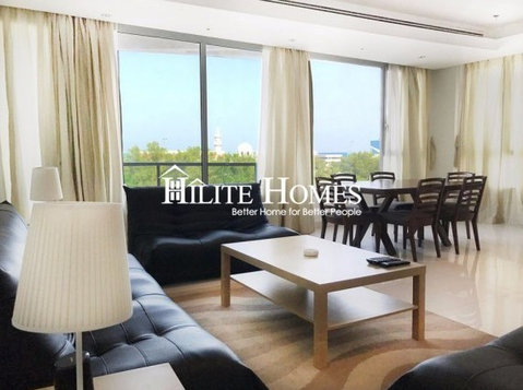 Fintas - Furnished two bedroom sea view apartment - اپارٹمنٹ