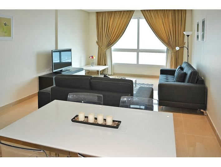 For Westerners only,sea view 2 bdr furnished apt in Fintas - Apartments