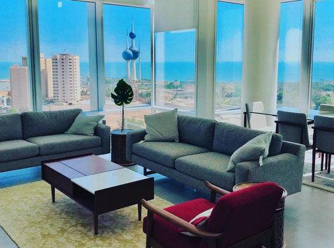Modern 2 and 3 BR near Kuwait City - Lejligheder