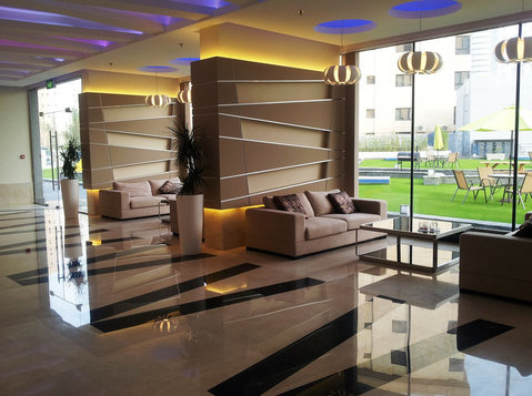 Furnished 3 bedroom flat, Salmiya, Kd 800 - Hilite Homes - Apartments