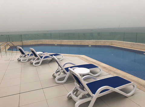 Sea view- Furnished apartments,gulf Road, Kuwait city - Apartamentos