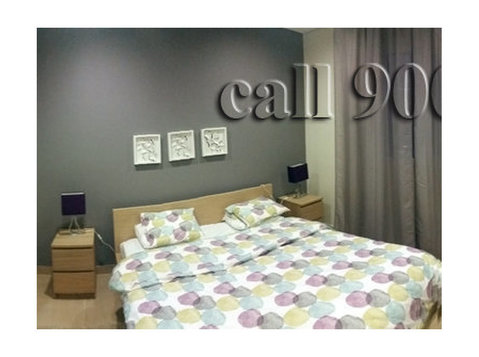 spacious 3 bedroom fully furnished with pool and gym - اپارٹمنٹ