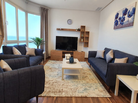 spacious seaview 1 bedrooms furnished in fintas for expats - Leiligheter