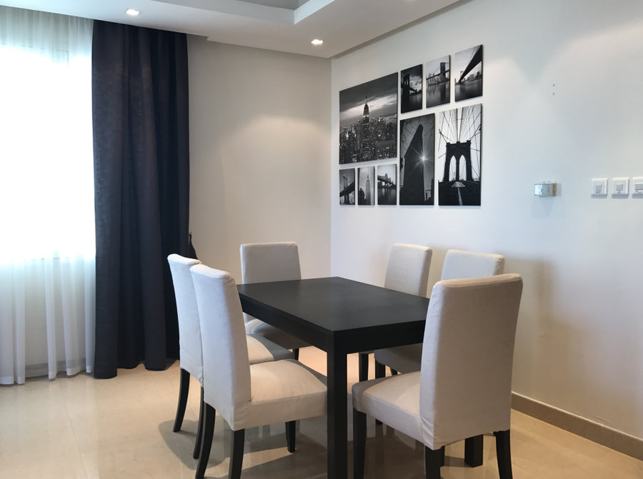 Full Floor 2 Bedroom Furnished Flat W Balcony Kd675 Fintas For Rent Houses In Kuwait